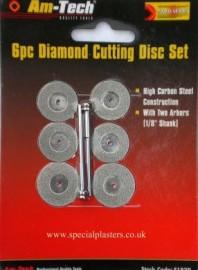 6 pc. Diamond Disc Set