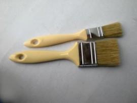 Brush, layup, plastic handle