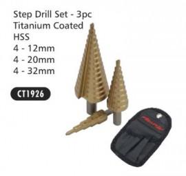 Step Drill Set