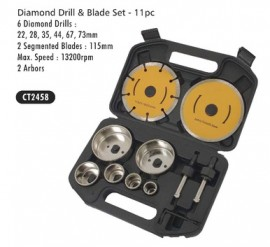 Diamond Drill & Blade Set