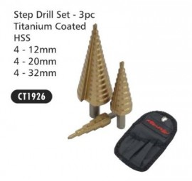 Step Drill Set