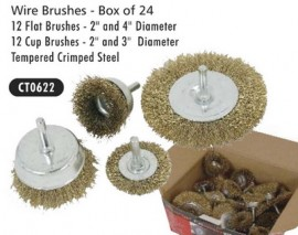 Wire Brushes box of 24