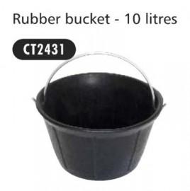 Rubber Bucket 10ltr