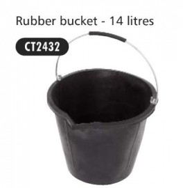 Rubber Bucket 14ltr